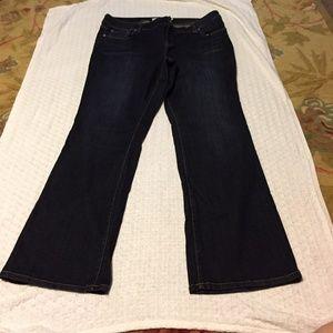 Torrid Size 18W Bootcut Blue Jean
